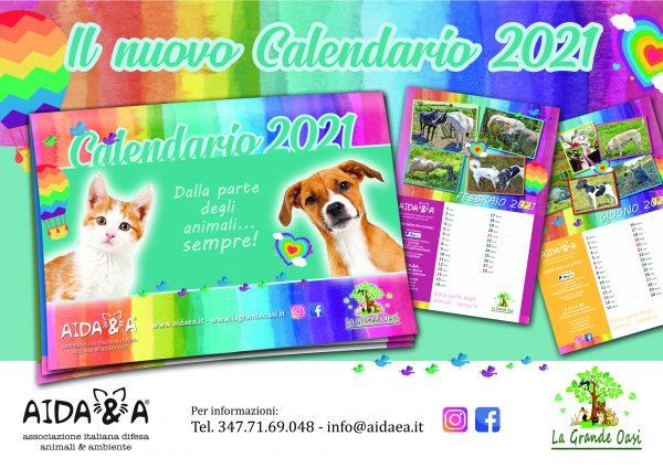 Locandina Annuncio Calendario Aidaea 2021